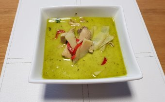 Thai green curry – skvelé Thajské kura na zelenom kari